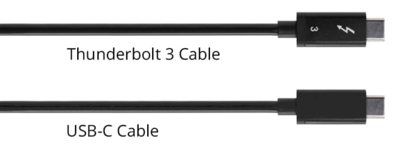 thunderbolt 3 and usb-c cables compared